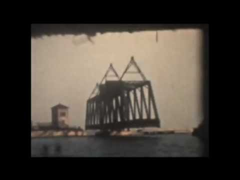 Railroad Bridge Rouses Point - 1961