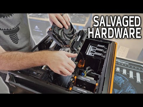 How To Take Apart and Salvage a Gaming PC