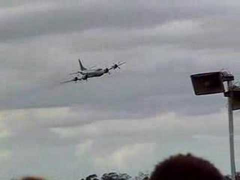 P3C Orion doing high speed fly-by (740KPH) at Richmond 2006