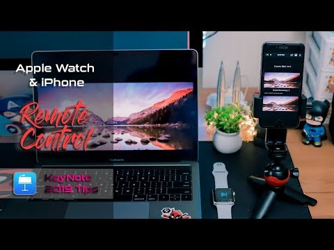 How To Remote Keynote On Apple Watch - IPhone And Apple Watch As Keynote Remote Control