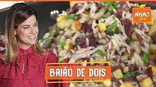 Baião-de-dois com molho lambão | Rita Lobo | Cozinha Prática