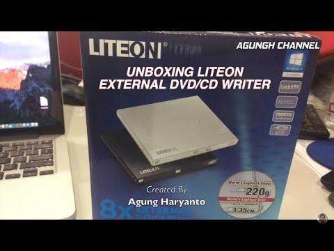 Unboxing LITEON External DVD/CD Writer