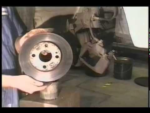 ford escort front brakes repair video youtube. Black Bedroom Furniture Sets. Home Design Ideas
