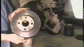 Ford Escort - Front Brakes  Repair Video