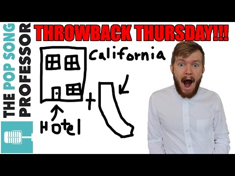 TBT: Hotel California is deepdeepdeepdeep  Lyrics Meaning Explained