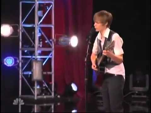Justin Bieber copy- Dani Shay- America's Got Talent
