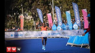 The Sanlam Cape Town Marathon has a new champion and a new record i...