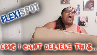 I CANT BELIEVE FLEXISPOT SENT ME THIS| flexispot standing desk| shop with me