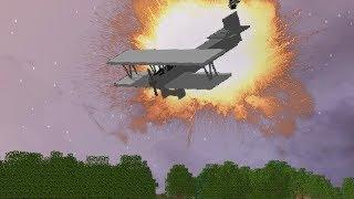 КРУШЕНИЕ САМОЛЕТА В МАЙНКРАФТ - АТАКА ПАПУАСОВ | Minecraft RolePlay
