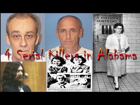 4 Serial Killers in Alabama - YouTube
