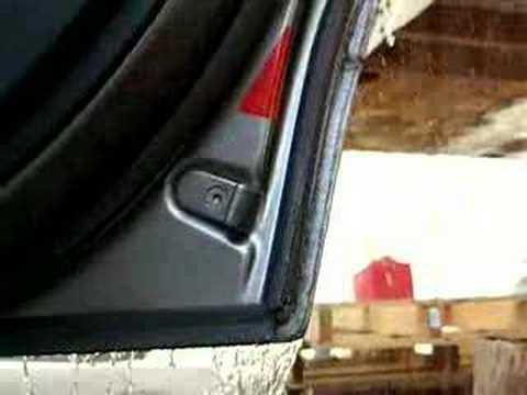 Bmw E39 Rear Door Leak