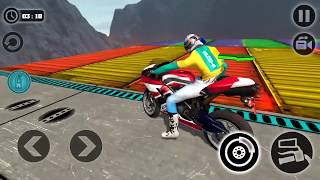 Impossible Motor Bike Tracks | Lvl 15 Last Lvl  Walkthrough (Android Gameplay )