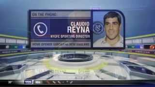 NYC FC Sporting Director Claudio Reyna is ready for the home opener