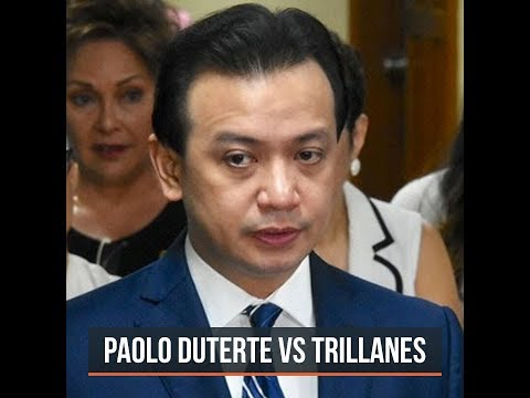 Trillanes: Libel complaint filed by Paolo Duterte 'clearly harassment'