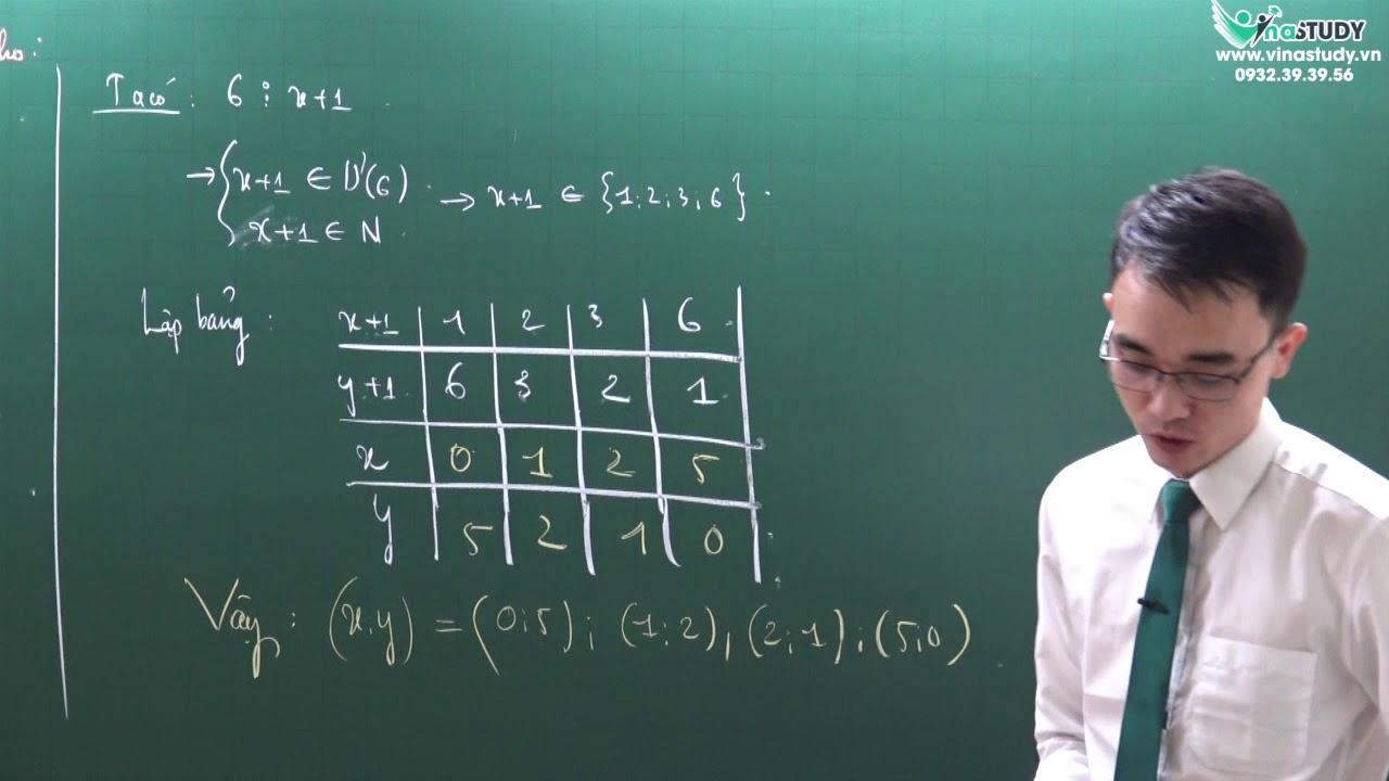 Toán lớp 6 : Tìm x,y thuộc N sao cho : xy + x + y = 5