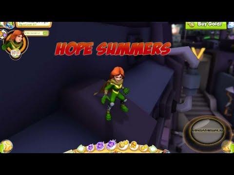 Marvel Super Hero Squad Online Hope Summers Gameplay HD