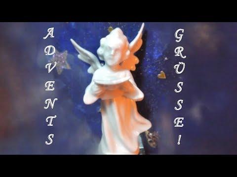 Advents-wünsche. Video mit Engel, Gedicht, Musik...