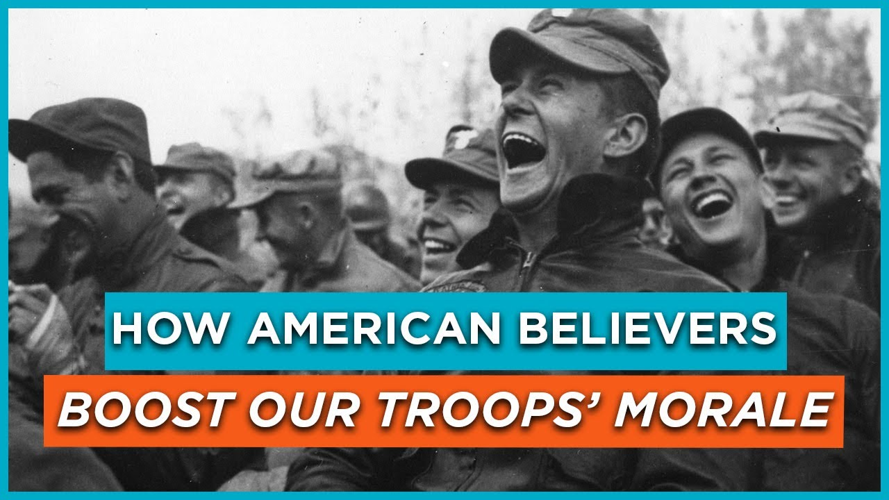 How American Believers Boost Our Troops' Morale
