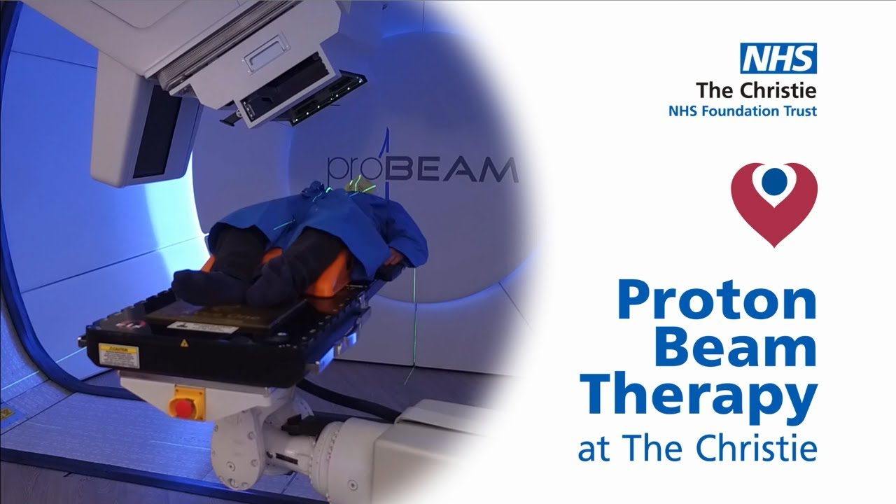 Proton beam therapy at The Christie