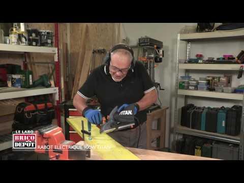 Labo Brico Test Rabot électrique Titan 900 W Youtube