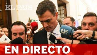 En directo: Sigue la rueda de prensa del presidente del Gobierno, PEDRO SÁNCHEZ