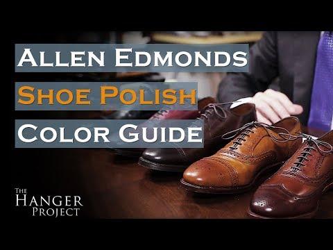 Allen Edmonds Shoe Polish Color Guide   Saphir Medaille D'Or