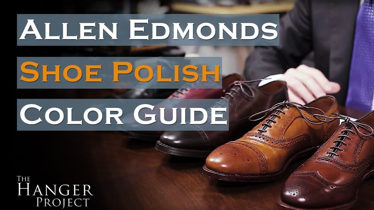 Allen Edmonds Shoe Polish Color Guide Saphir Medaille D Or