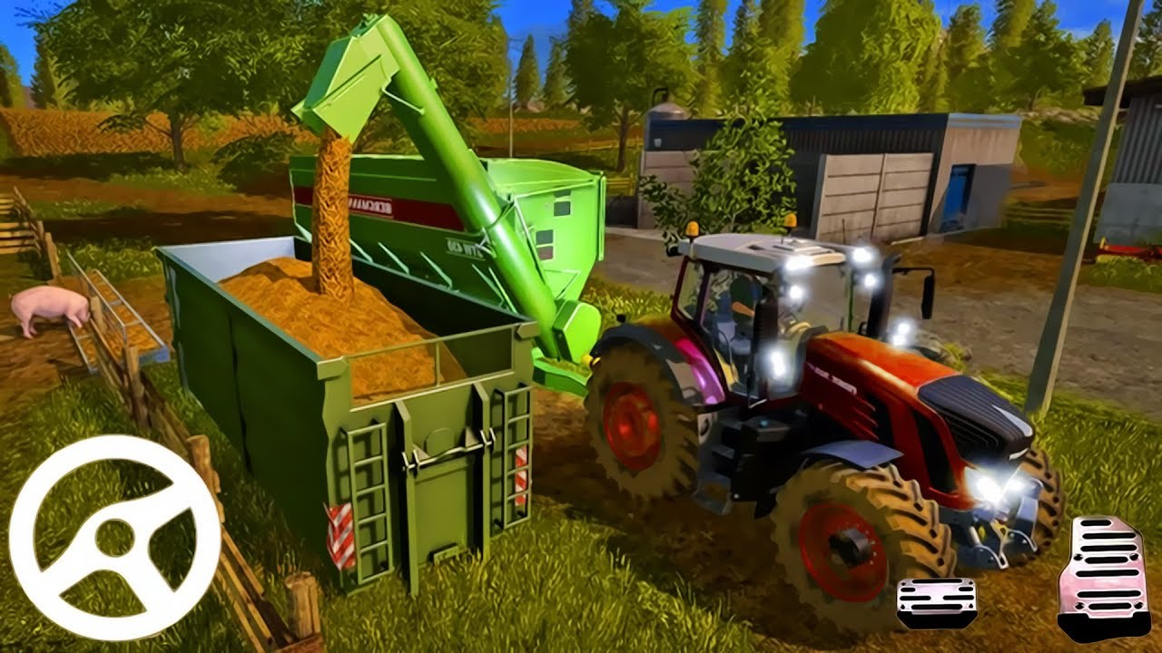 Real Farming Tractor Simulator 3D – Driving Trucks | Android Gameplay