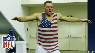 Colts Punter Pat McAfee's Blindfolded Field Goal Breaks Guinness World Record | NFL