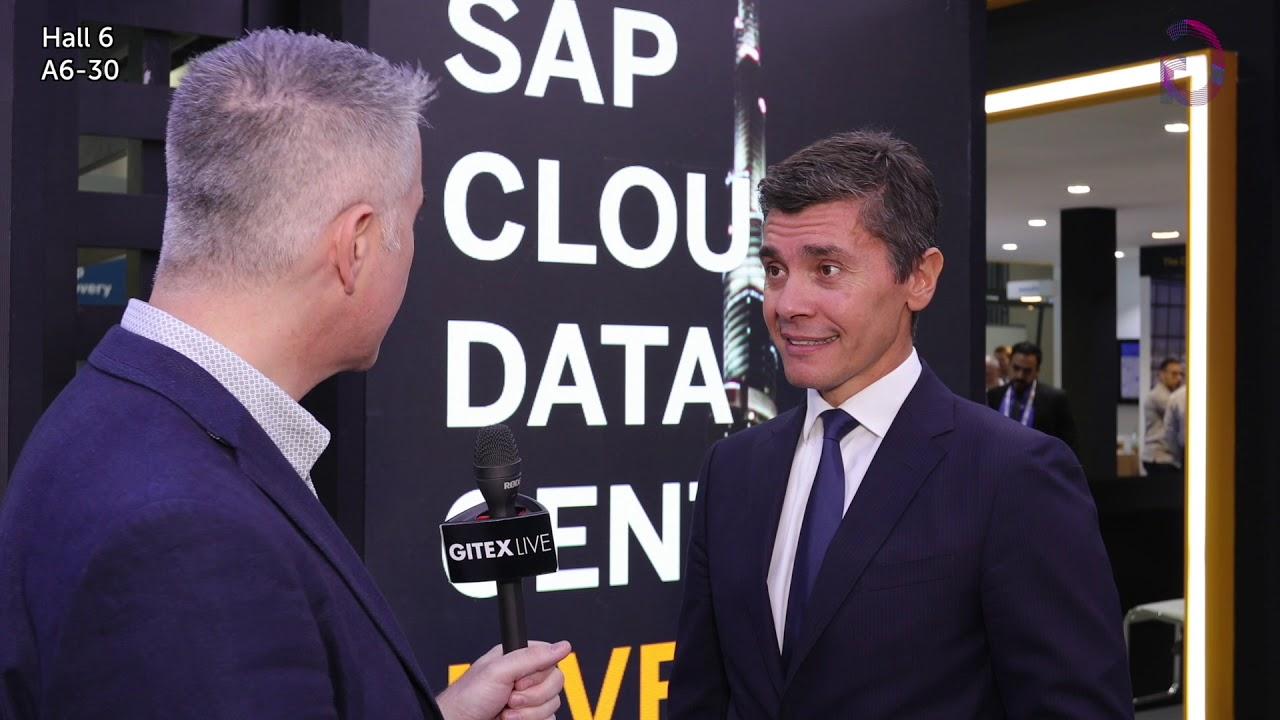 President, EMEA South of SAP talks to GITEX Live