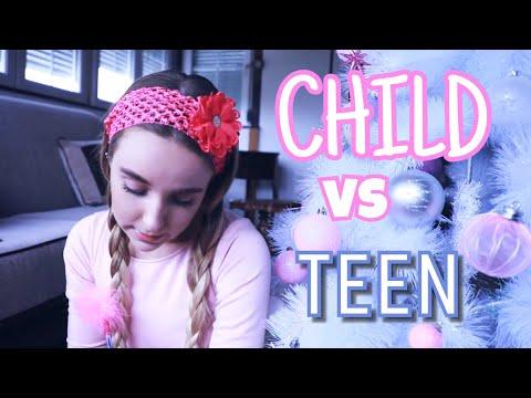Child Vs Teen   NEW YEAR'S WISHES   VLOGMAS 2