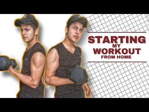 Starting my workout after Lockdown (Basic Workout Vlog) | Abhishek Nigam new video