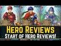Big Neph, Balanced Ike, Hard Lukas - The Start of Hero Reviews! | Hero Reviews 【Fire Emblem Heroes】