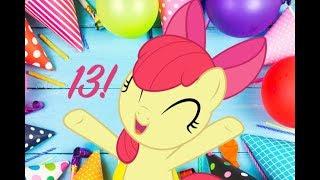 C'EST MON 13ÈME BIRTHDAY!!! | Applebloom joue Roblox et jeux en ligne sur son BIRTHDAY!