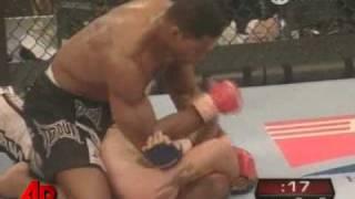 Raw Video: Herschel Walker Wins MMA Debut