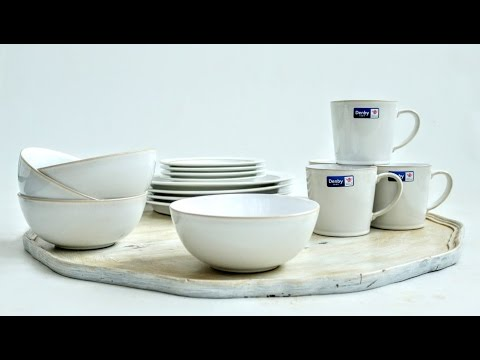 Denby Pottery's Latest Natural Canvas Unboxing | Tastefully Vikkie