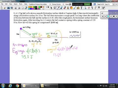 Conservation of Energy Review Part 5