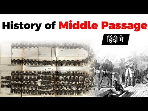 Middle Passage And Slave Trade, History Of Triangular Trade Route Between Europe, Americas & Africa