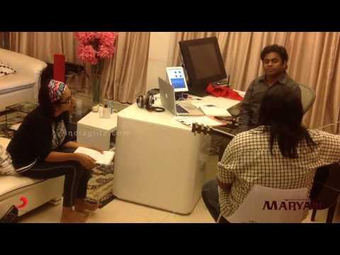 Maryan - Making of Yenga Pona Rasa feat. AR Rahman, Bharatbala, Shakthisree, Keba