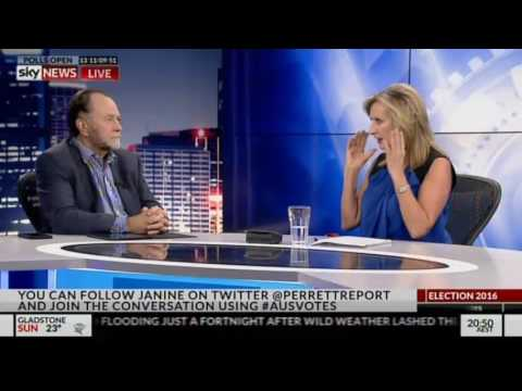 Bruce Hawker on SKY News The Perrett Report 18.6.16