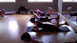 Alli Breen's Hot, Healthy & Lean Legs Pilates Fusion Workout!