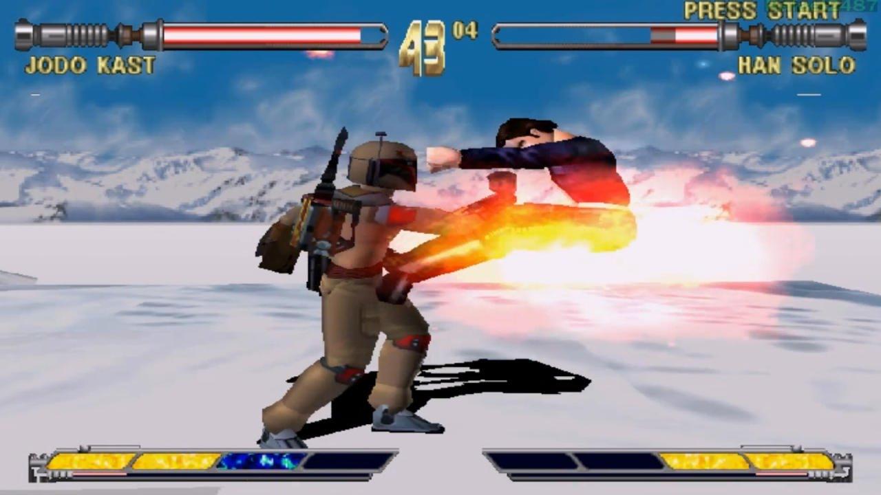 Game Pc Kast : Star wars masters of teras kasi ps jodo kast part arcade mode
