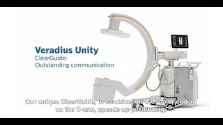 Philips Veradius Unity mobile C-arm ClearGuide feature
