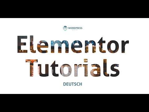 Elementor Design Tutorial #1 - Bild als Hintergrund einer Schrift thumbnail