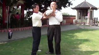 Old Man Shows Amazing Bagua Grappling Skills (Bagua vs Small-Joint Manipulation)
