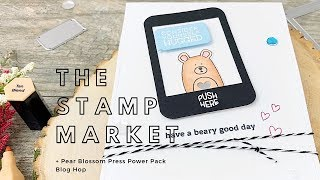The Stamp Market + Pear Blossom Press Mega Hop