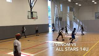 CT VENOM vs ALL STARS 14 u