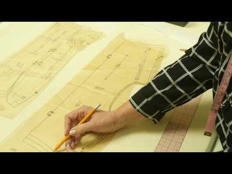 Sewing Lesson: Men's Shirt - Altering Pattern Neck (4/5)