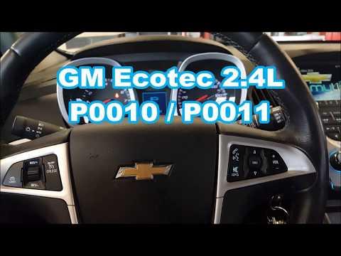 Equinox P0011 / P0010 VVT solenoid stalling ecotec 2.4l LaCrosse Terrain Cobalt G5 G6