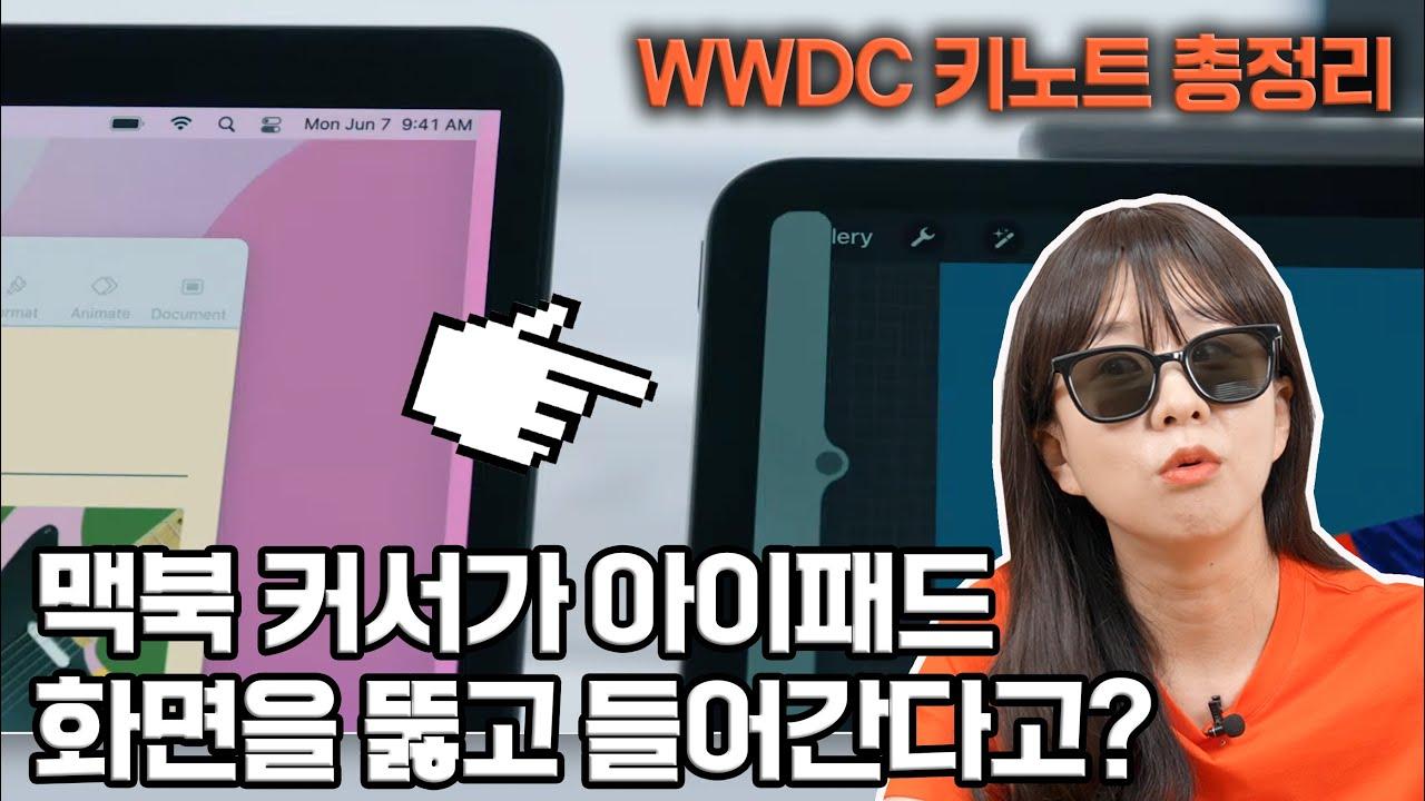 WWDC 10분 요약, 아이폰 새로운 기능 알려드림